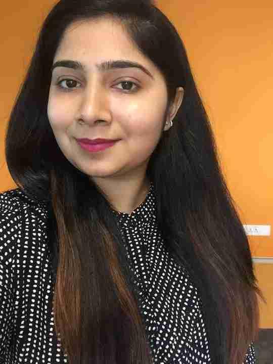 Dr. Palak Arora's profile on Curofy