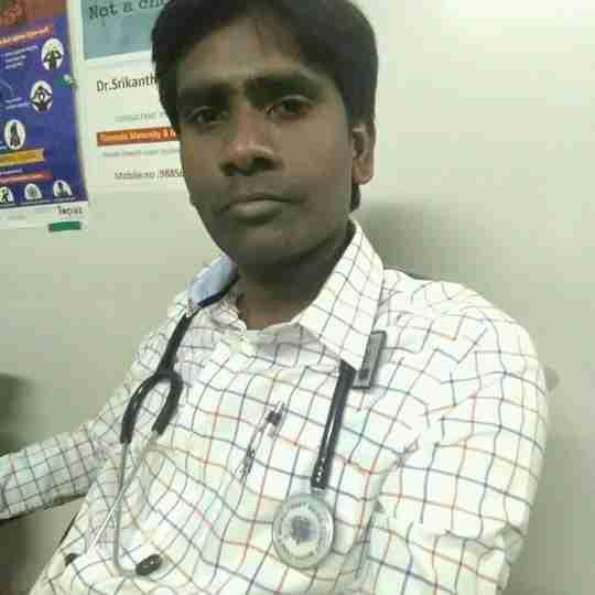 Dr. Srikanth Pakanati's profile on Curofy