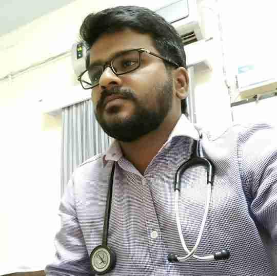 Dr. Lokesh G's profile on Curofy