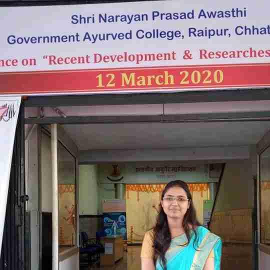 Dr. Pushpanjli Upadhyay's profile on Curofy