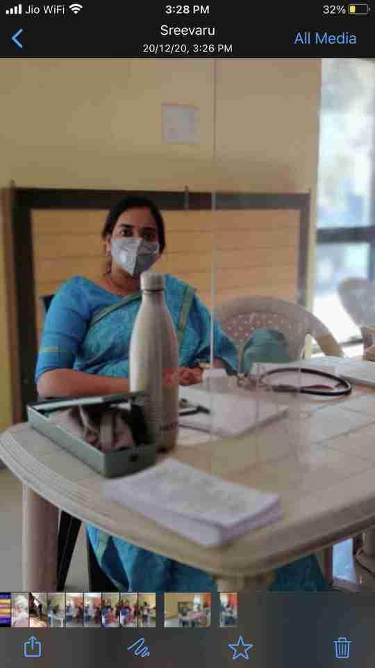 Dr. Ranjitha Nadendla's profile on Curofy
