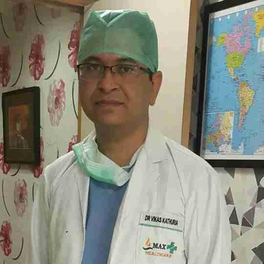 Dr. Vikas Kathuria's profile on Curofy