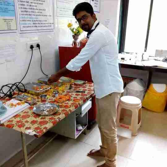Dr. Sandeep Pandurang Ubale's profile on Curofy
