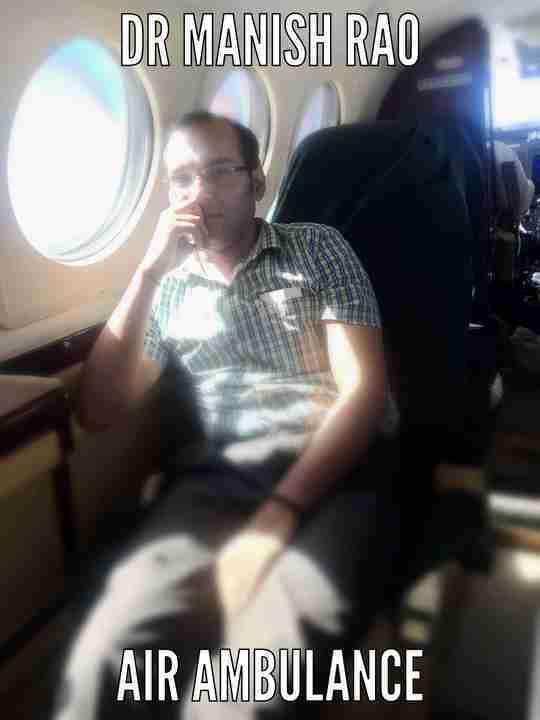 Dr. Manish Rao's profile on Curofy