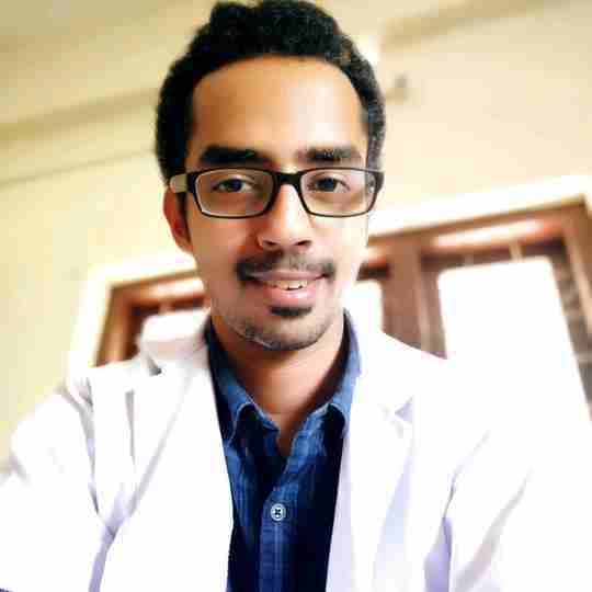 Dr. Arjun A C's profile on Curofy