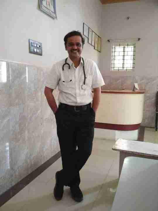 Dr. Srinivas Varadeygowda's profile on Curofy
