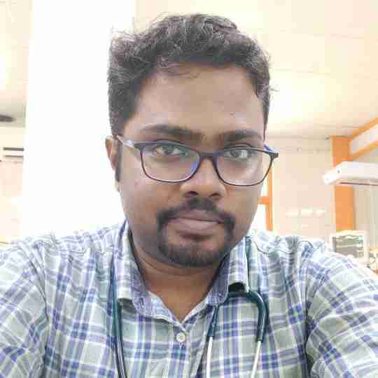 Dr. Suganth P's profile on Curofy