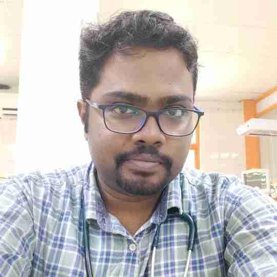 Dr. Suganth P's profile on Curofy