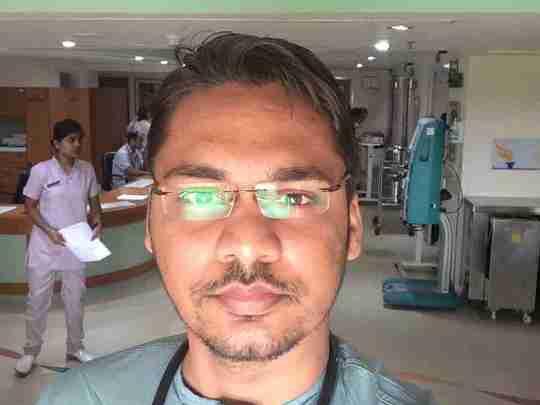 Dr. Abhishek Faye's profile on Curofy