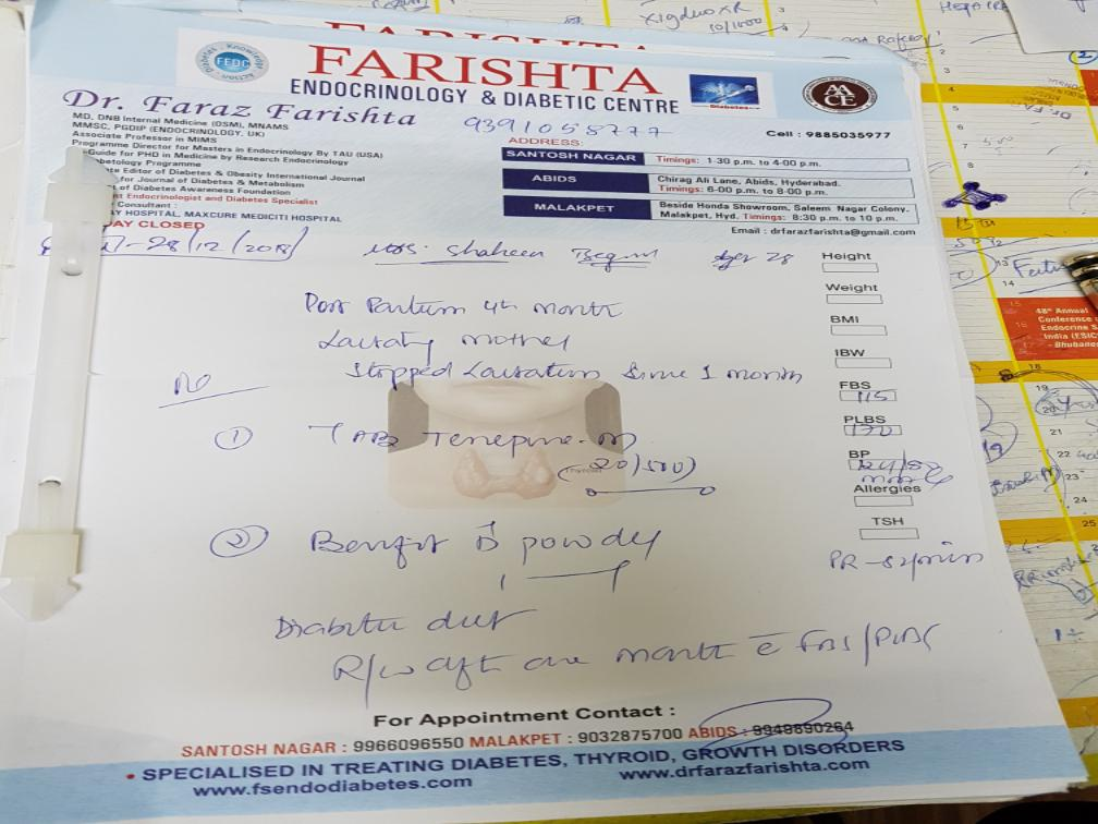 Dr. Faraz Farishta's profile on Curofy