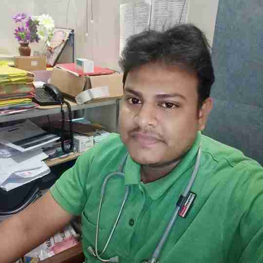 Dr. Golok Maji's profile on Curofy