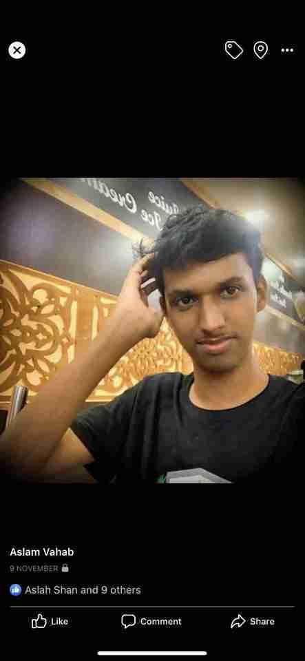 Aslam Vahab's profile on Curofy