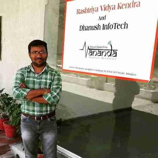Rajashekar Chandanala's profile on Curofy