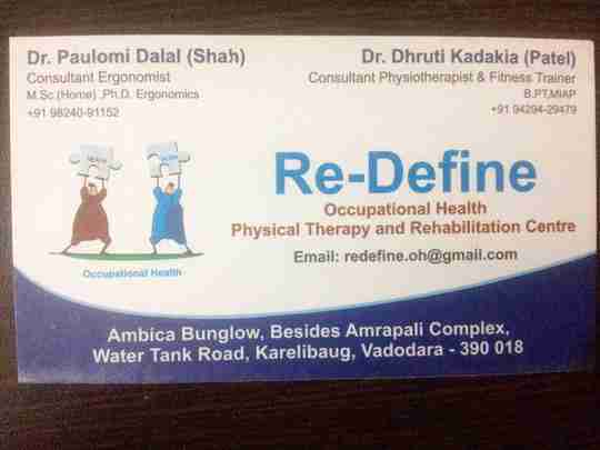 Dr. Dhruti Kadakia Patel (Pt)'s profile on Curofy