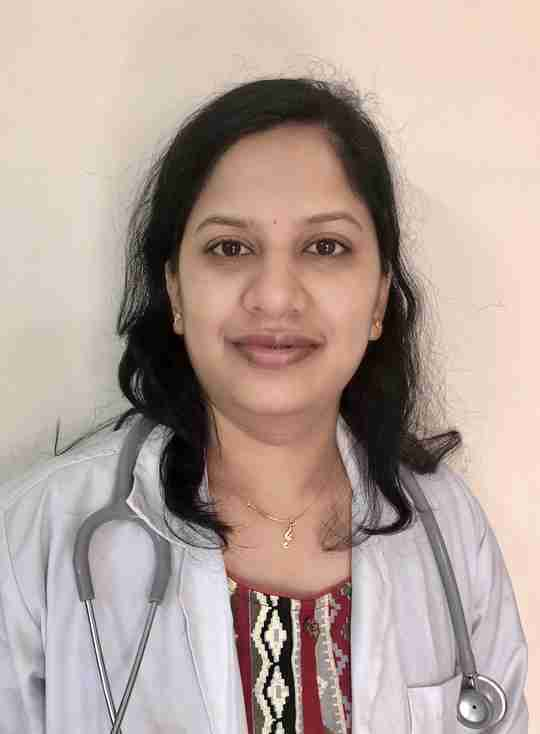 Dr. Ashwini Reddy's profile on Curofy