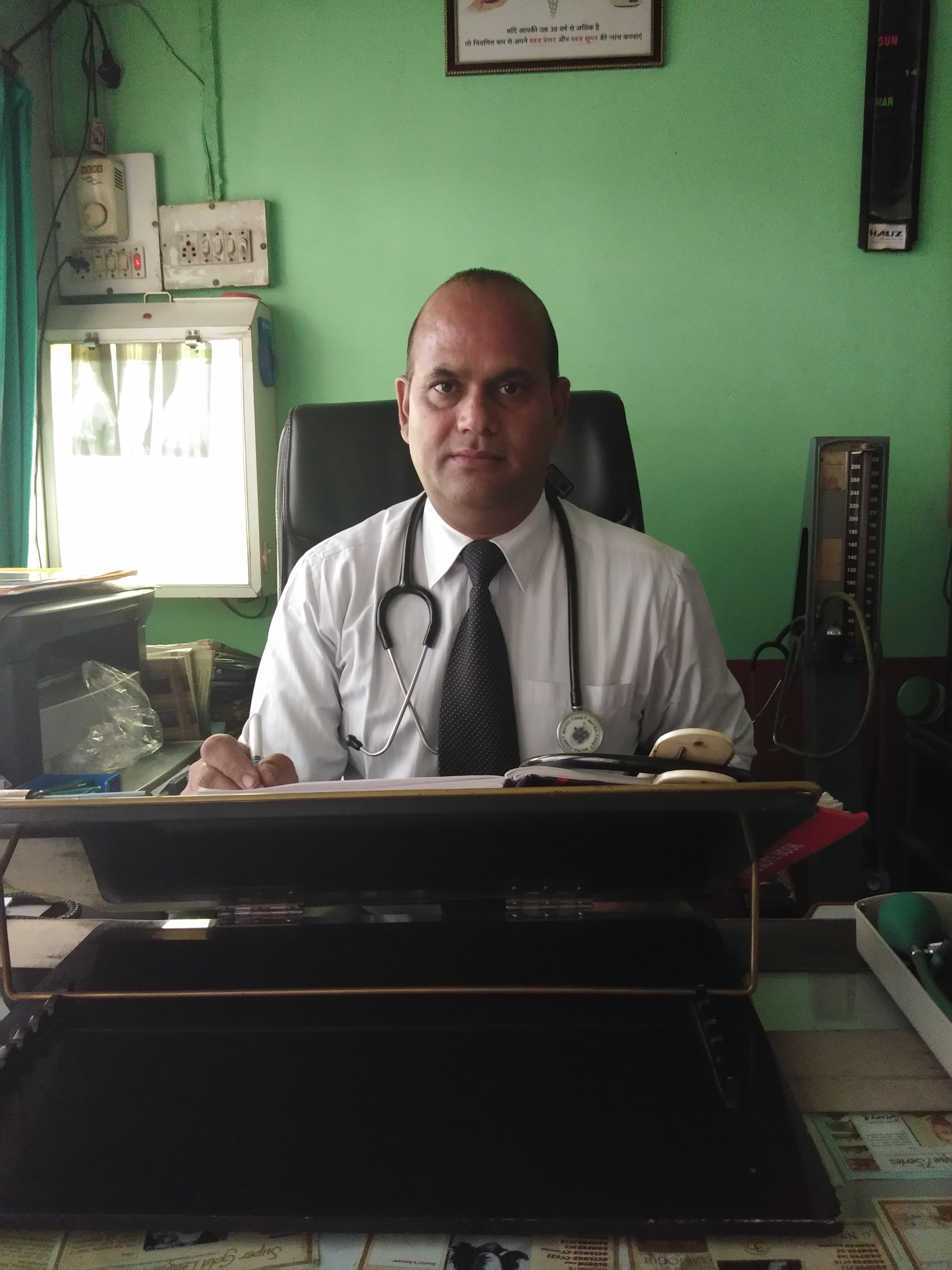 Dr. Diwakar Datt Godiyal's profile on Curofy
