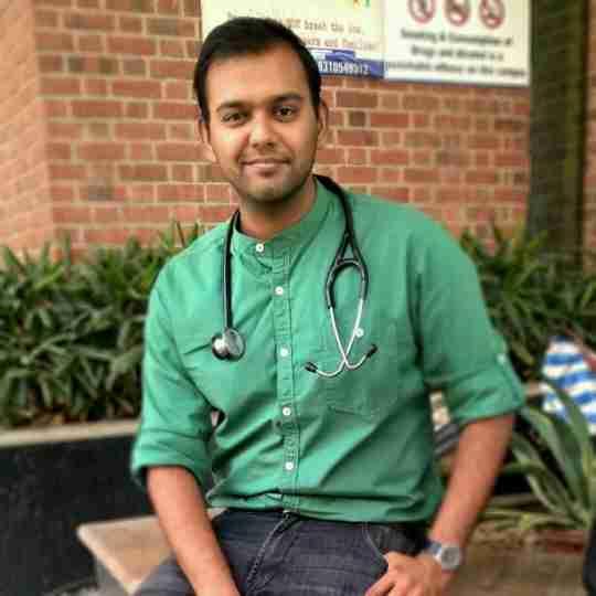 Vaibhav Gupta's profile on Curofy