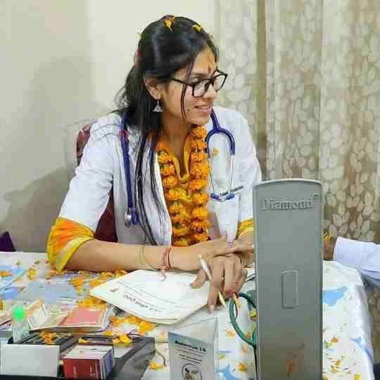Dr. Padminipriyadarshini Lohiya's profile on Curofy
