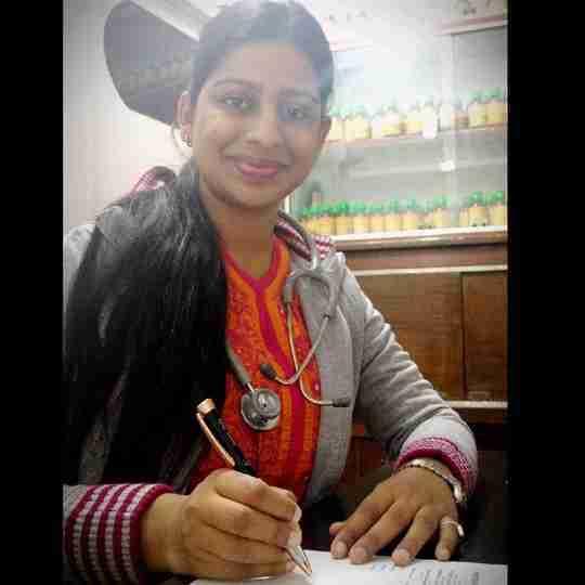 Dr. Anvita Sinha's profile on Curofy