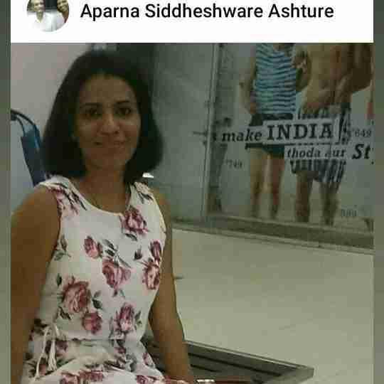 Dr. Aparna Ashture's profile on Curofy