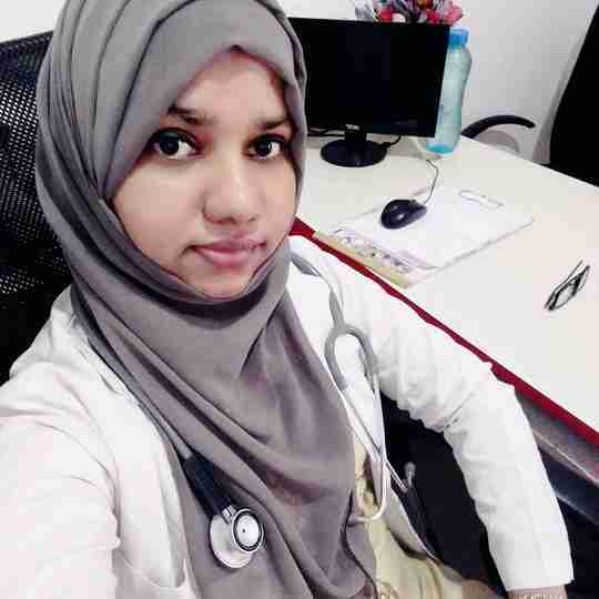 Dr. Aysha Saniya's profile on Curofy