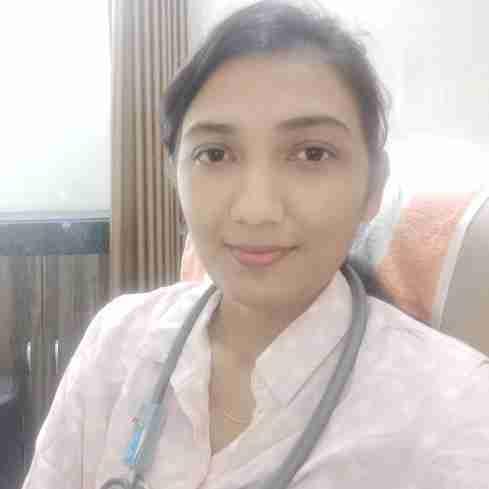Dr. Sanvi Godhaniya's profile on Curofy