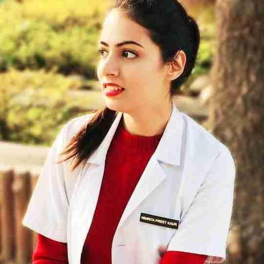 Dr. Nimrita Kaur's profile on Curofy