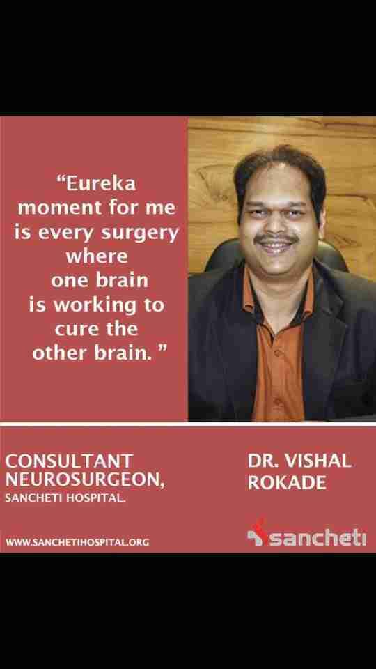 Dr. Vishal Rokade's profile on Curofy