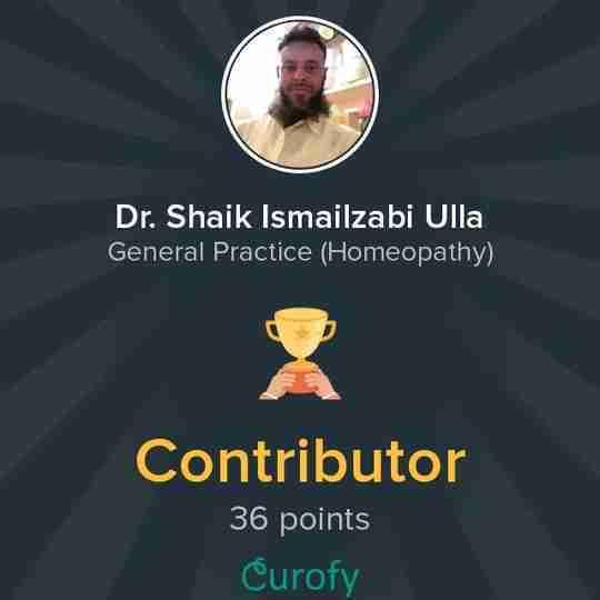 Dr. Shaik Ismailzabi Ulla's profile on Curofy