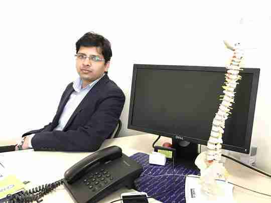 Dr. Pankaj Bhadauria's profile on Curofy