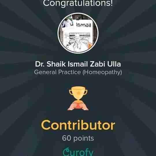 Dr. Shaik Ismailzzabi Ulla Katbadi's profile on Curofy