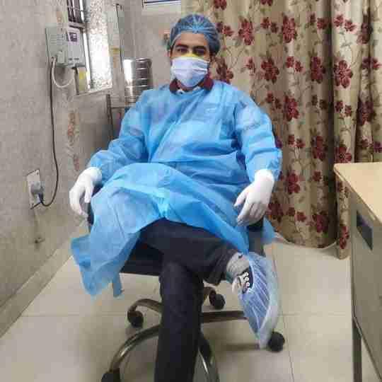 Dr. Akshay Panwar's profile on Curofy