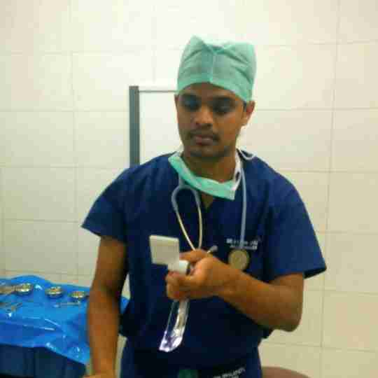 Dr. Vamsi Uppalapati's profile on Curofy