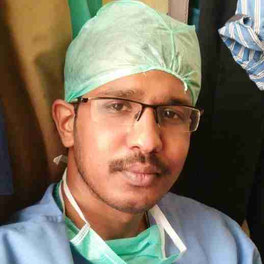 Dr. Raghul T's profile on Curofy
