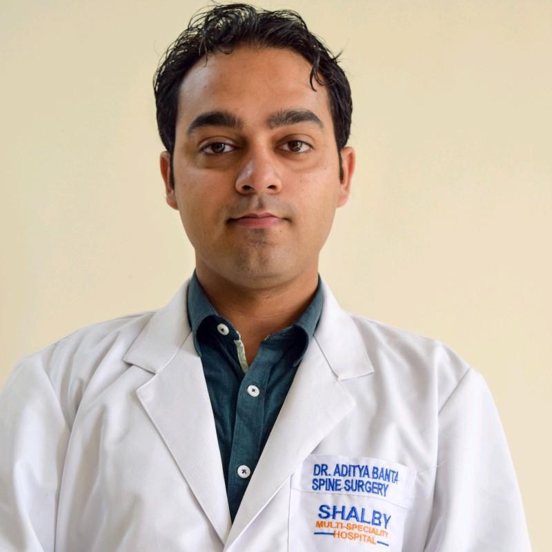 Dr. Aditya Banta's profile on Curofy