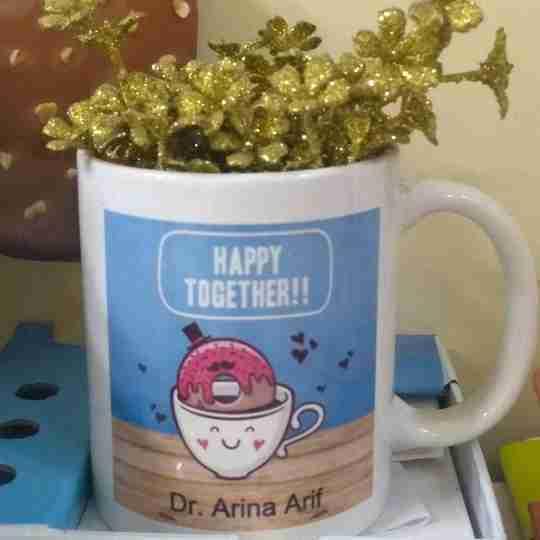 Dr. Arina Arif's profile on Curofy
