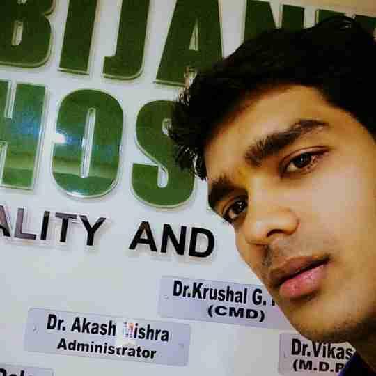 Akash Mishra's profile on Curofy