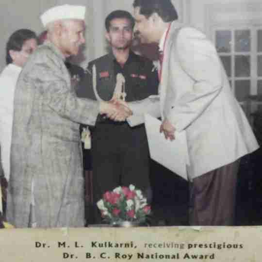 Dr. Muralidhar Laxmanrao Kulkarni's profile on Curofy