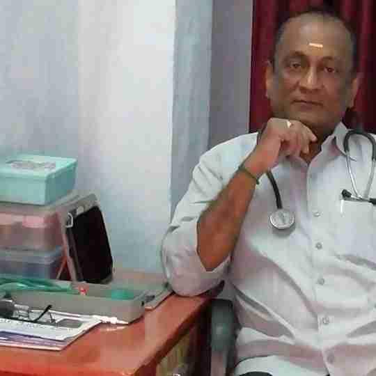 Dr. Jagannadam P's profile on Curofy