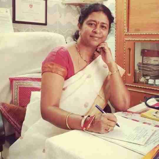 Dr. Geetha Ravikumar's profile on Curofy