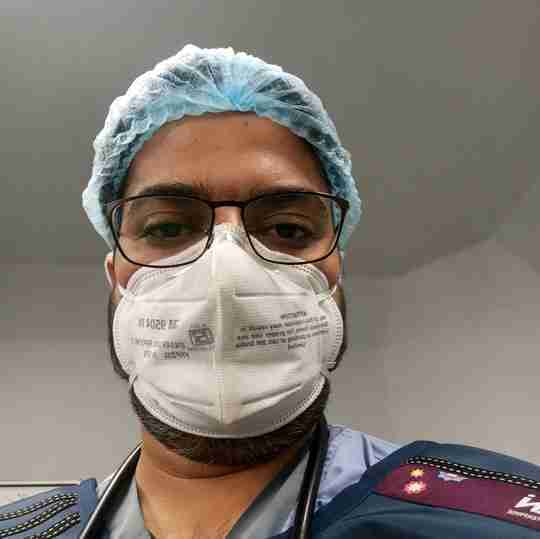 Dr. Ankit Sharma's profile on Curofy