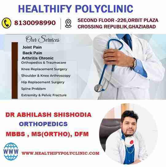 Dr. Abhilash Shishodia's profile on Curofy