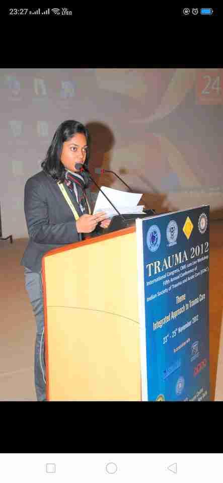 Dr. Aparajita Kumar's profile on Curofy