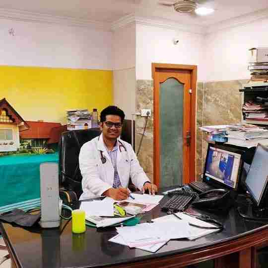 Dr. Prathyush Veernala's profile on Curofy