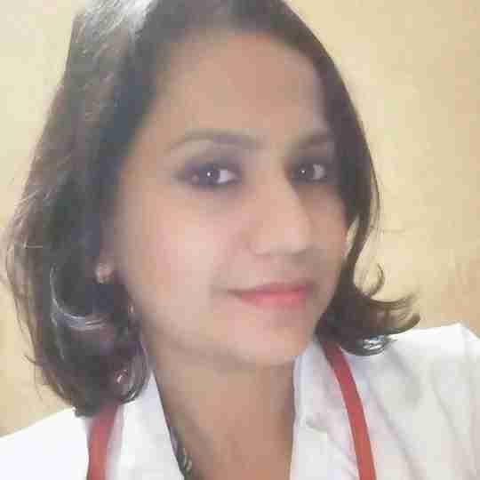 Dr. Geeta N P's profile on Curofy