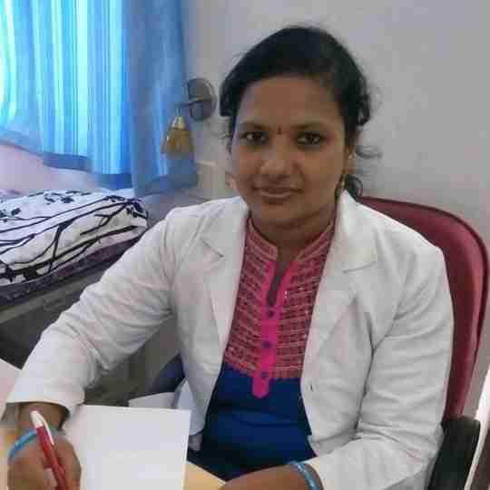 Dr. Srivalli Jandyala (Pt)'s profile on Curofy
