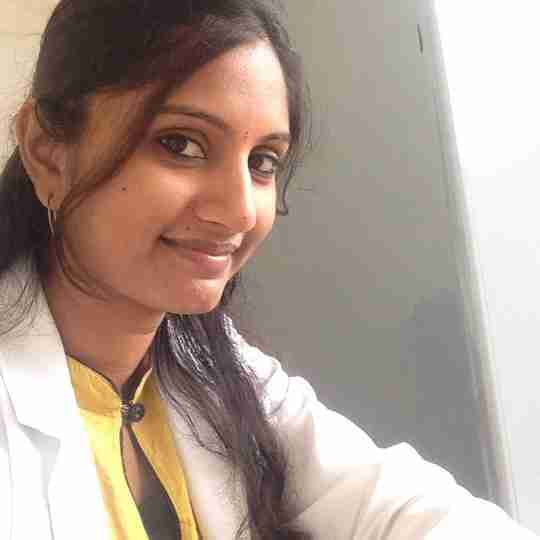 Dr. Sahana Shetty's profile on Curofy
