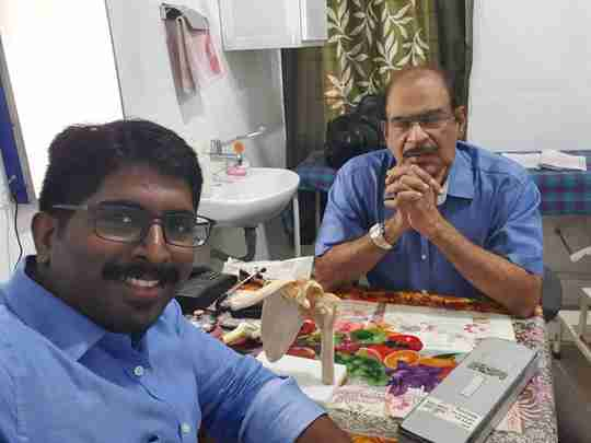 Dr. Jayarajan Ponnan's profile on Curofy