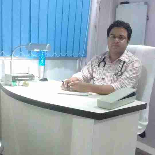 Dr. Kuldeep Pandey's profile on Curofy