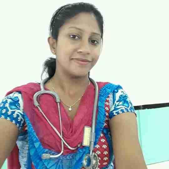 Dr. Varsha Raman's profile on Curofy